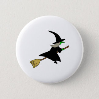 Badge Rond 5 Cm witch_on_broom.png