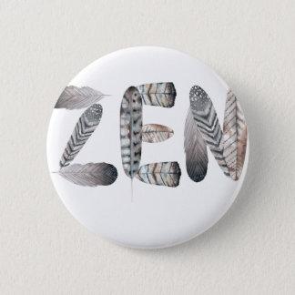 Badge Rond 5 Cm Zen