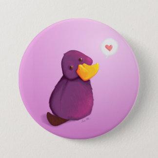 Badge Rond 7,6 Cm Amour de Platy