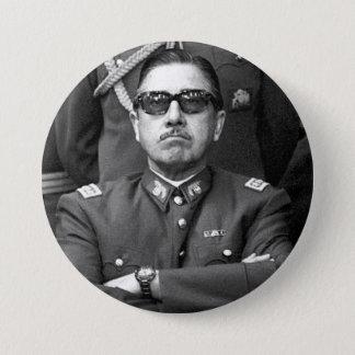 Badge Rond 7,6 Cm Augusto Pinochet