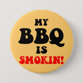 Badge Rond 7,6 Cm BBQ drôle