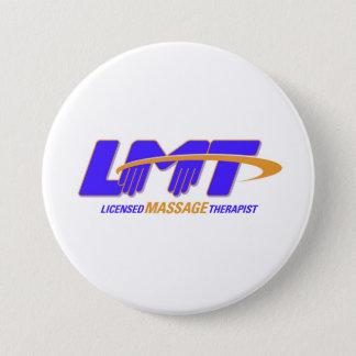 Badge Rond 7,6 Cm Bouton autorisé de thérapeute de massage