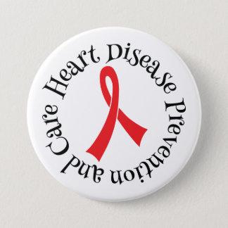 Badge Rond 7,6 Cm Bouton de ruban de soin de prévention des maladies