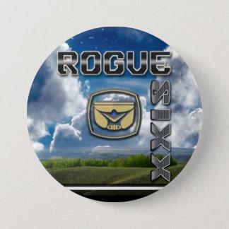 Badge Rond 7,6 Cm bouton espiègle