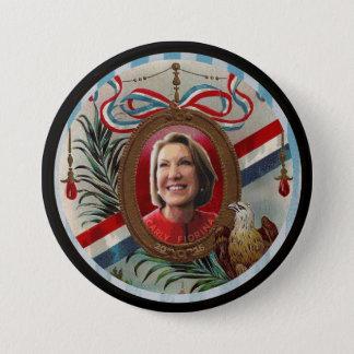 Badge Rond 7,6 Cm Carly Fiorina 2016