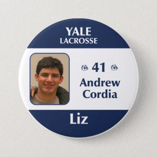 Badge Rond 7,6 Cm Cordia de Liz - d'Andrew