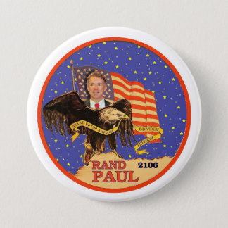 Badge Rond 7,6 Cm Couche-point Paul 2016