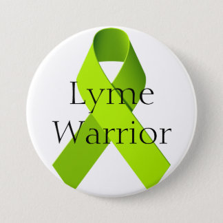 Badge Rond 7,6 Cm Guerrier de Lyme