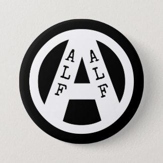 Badge Rond 7,6 Cm Insigne avec le symbole d'ALF