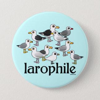 Badge Rond 7,6 Cm Larophile