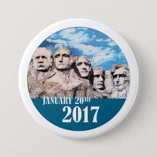 Badge Rond 7,6 Cm Le mont Rushmore, le 20 janvier 2017