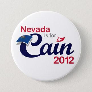 Badge Rond 7,6 Cm Le Nevada est pour Caïn ! - Caïn 2012