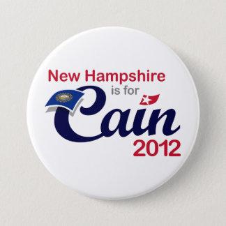Badge Rond 7,6 Cm Le New Hampshire est pour Caïn ! Bouton - Caïn