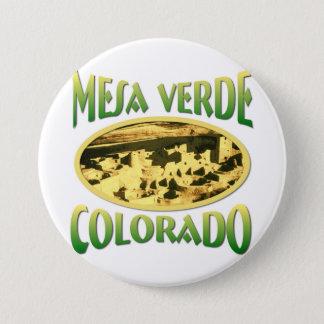 Badge Rond 7,6 Cm MESA Verde le Colorado