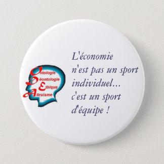 Badge Rond 7,6 Cm ODEA : l'économie est un sport d'équipe !