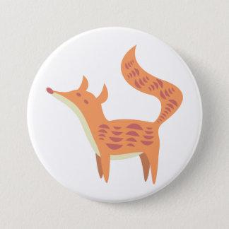 Badge Rond 7,6 Cm Peu de bouton de Fox