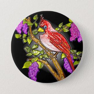 """Badge Rond 7,6 Cm Premier cardinal (3"""" goupille de revers)"""