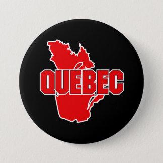 Badge Rond 7,6 Cm Province du Québec