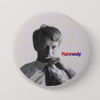 Badge Rond 7,6 Cm Robert F. Kennedy