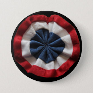 Badge Rond 7,6 Cm Rosette (révolution française)