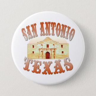 Badge Rond 7,6 Cm San Antonio le Texas