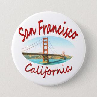 Badge Rond 7,6 Cm San Francisco la Californie