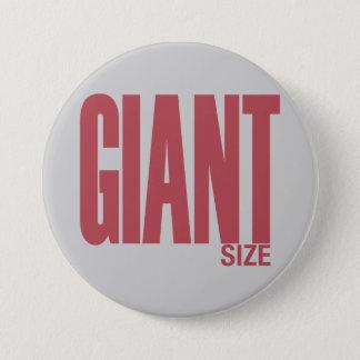 Badge Rond 7,6 Cm Taille géante