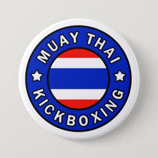 Badge Rond 7,6 Cm Thaïlandais de Muay