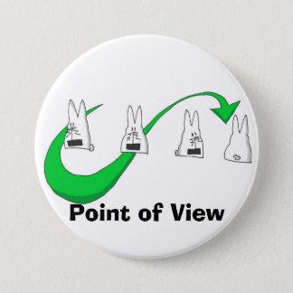 Badge Rond 7,6 Cm verde d'illy14 punti di vista, point de vue