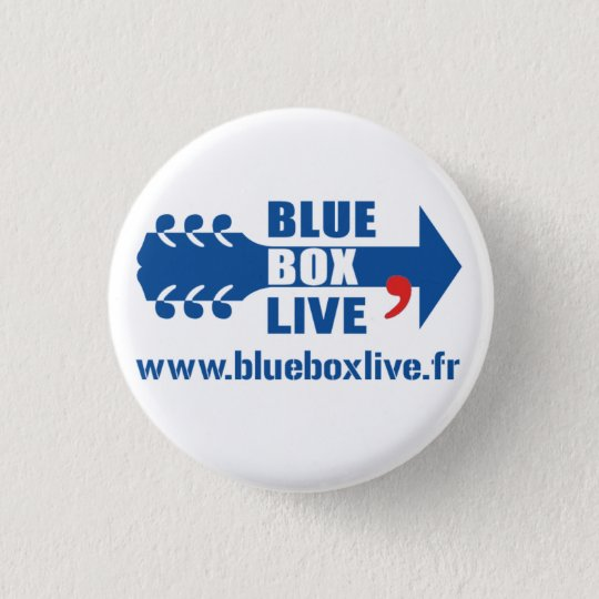 Badge Rond Blue Box Live