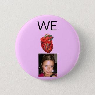 Badge Rose anatomique de Casey de coeur