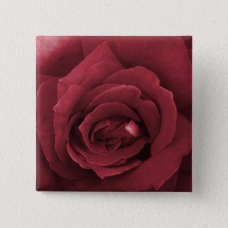 Badge rose rouge