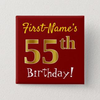 Badge Rouge, anniversaire d'or de Faux
