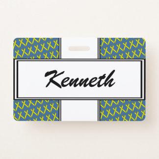 Badge Ruban standard jaune par Kenneth Yoncich