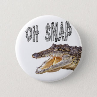 Badge RUPTURE de l'OH - alligator fâché