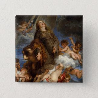 Badge Saint Rosalie intervenant pour Peste-frappé