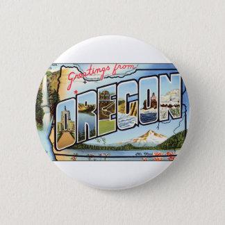 Badge Salutations d'Orégon