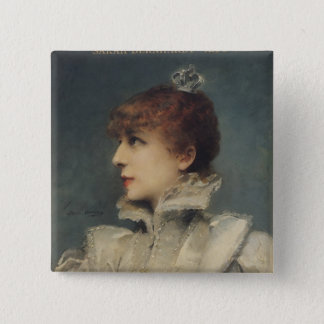 Badge Sarah Bernhardt 1875