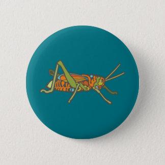 Badge Sauterelle colorée
