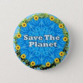Badge Sauvez la planète