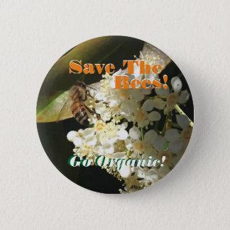 Badge Sauvez les abeilles/Pin d'activisme