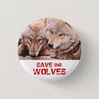 Badge Sauvez les loups