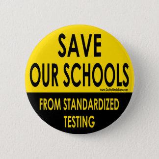 Badge Sauvez nos écoles