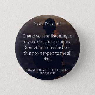 Badge Sensation d'étudiants d'aide de professeurs