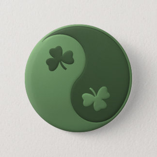 Badge Shamrocks de Yin Yang