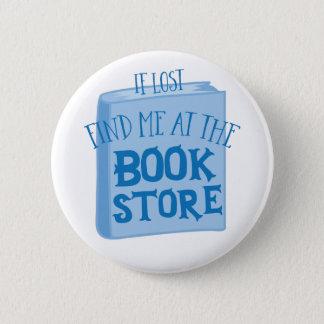 Badge si perdu trouvez-moi à la librairie
