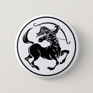 Badge Signe d'horoscope de zodiaque de centaure de