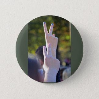 Badge Signes de paix