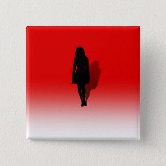 Badge Silhouette d'une femme