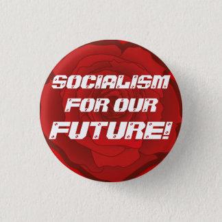 """Badge """"Socialisme pour notre avenir !"""" Bouton"""